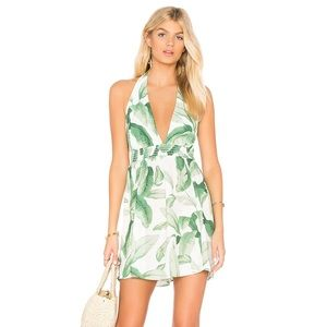 SMYM Island Mini Dress - Palmtini